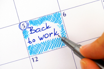 back to work calendar image